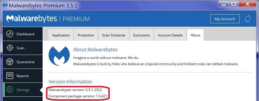 MalwareBytes Stopped Loading, Missing DLL Function - Malwarebytes 3