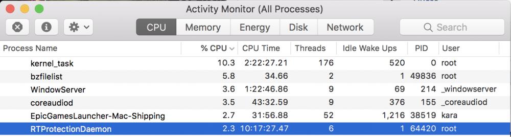 Malwarebytes v3 is the #1 CPU hog on all my macs at home