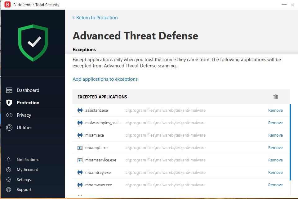 Running Malwarebytes and Bitdefender together? - Malwarebytes 3