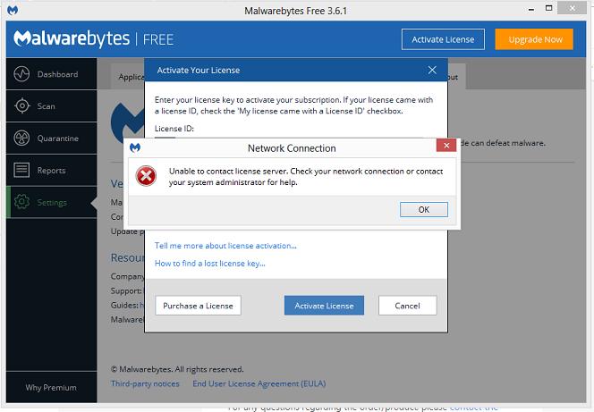 malwarebytes activate license key 3.6.1