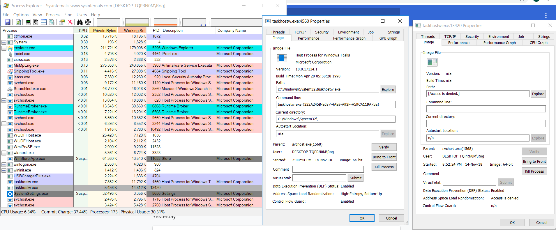 High CPU Consumer, Game Lag, Loud Fan - Page 2 - Resolved Malware
