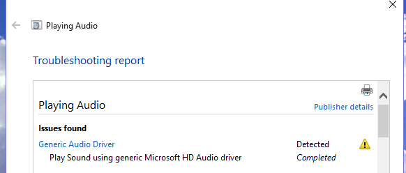 Generic Audio Driver - General Windows PC Help