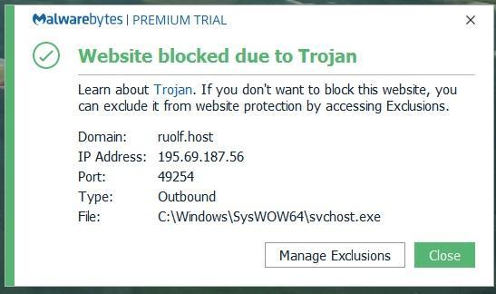 svchost.exe malware windows 7