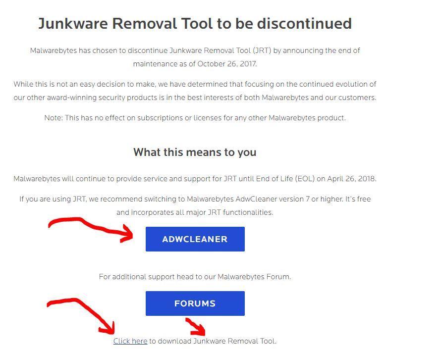 Deleted MalwareBytes Now Cannot Reload - Malwarebytes 3 Support