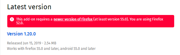 Firefox add-on not working? - Page 2 - Firefox
