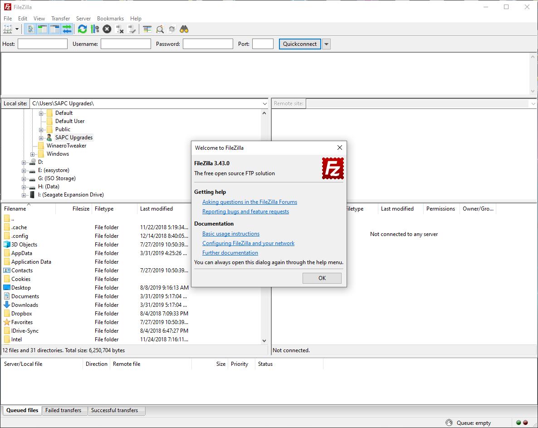 FileZilla malware included Lavasoft Web Companion - General