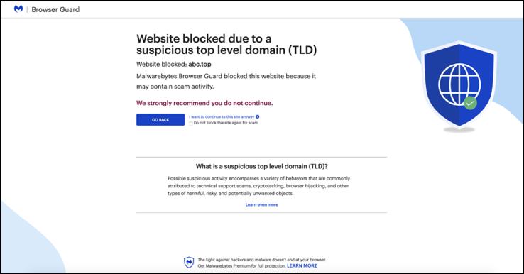 Introducing Malwarebytes Browser Guard - Firefox
