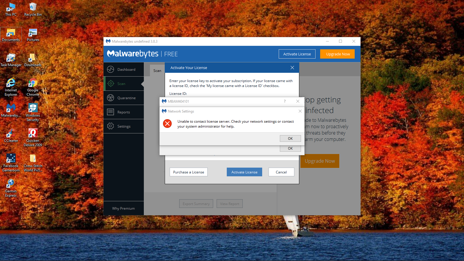 Having a issue with Malwarebytes - Malwarebytes for Windows