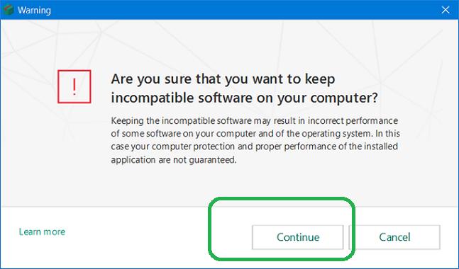 Malwarebytes and kaspersky compatibility