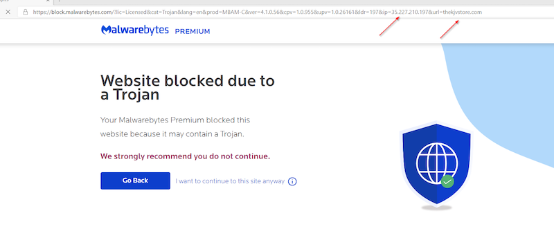 Website blocked due to a Trojan.png
