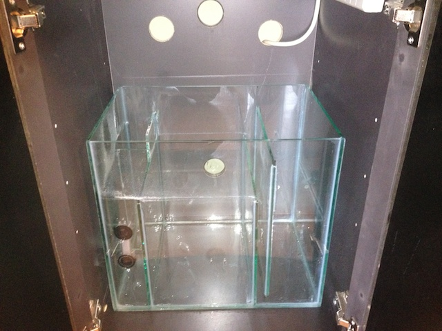 Custom Sump in BioCube cabinet