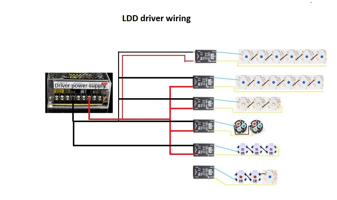 New to DIY - Arduino -> LED -> MEANWELL LDD-1000H -> 250w DC POWER ...