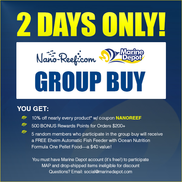 Marine Depot Group Buy - 10/30 and 10/31 - BIG Deals, FREE Stuff!