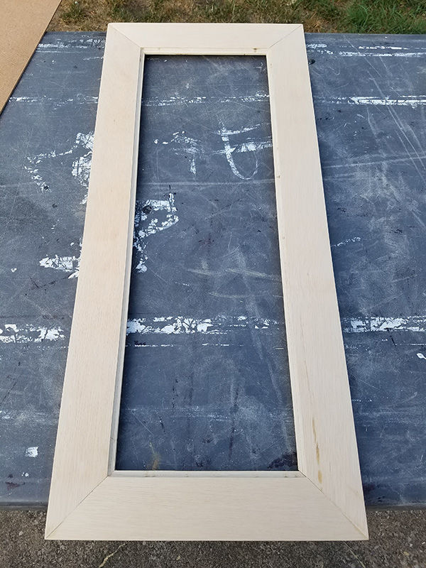 Door Framing with inside routing