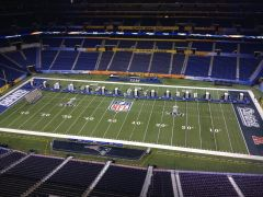 Media Day at Lucas Oil Stadium