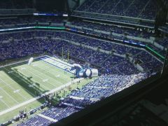 Colts Have a New Run out Tunnel