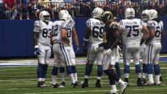 COLTS Vs Rams preseason LUCK ERA begins 069