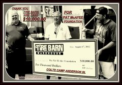 2012 TIRE BARN AND PAT McAFEE