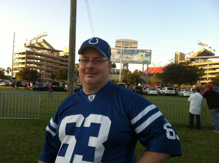 Rod pre game 2011 Tampa