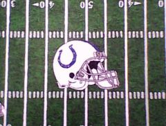 Colts field helmet