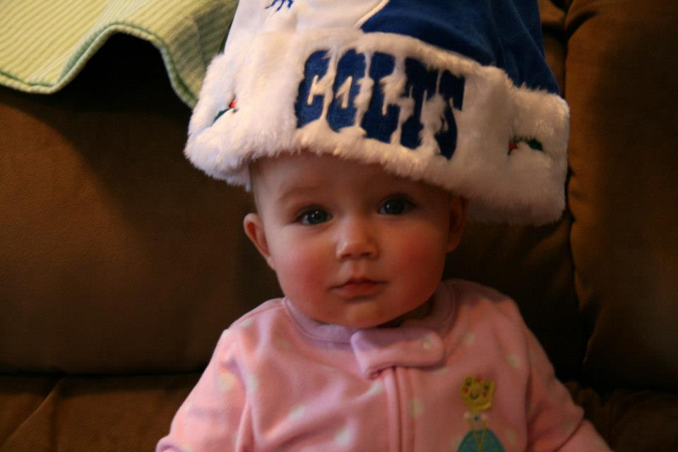 Baby Love for COLTS