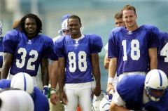 Colts Triplettes - James, Harrison, and Manning