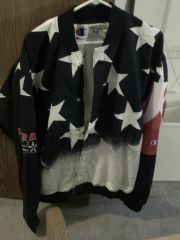Reggie Miller's 1996 Dream Team 2 Warmup Jacket top