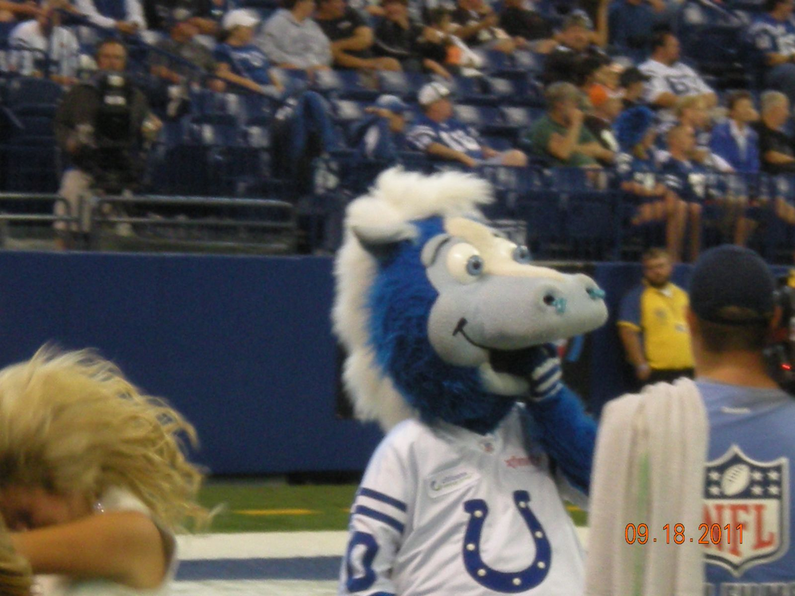 COLTS HOME OPENER SEPT 2011