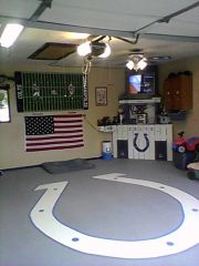 My garage/MAN CAVE!!