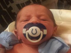 1st pacifier
