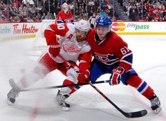 MTL VS DET - Jan. 25, 2012
