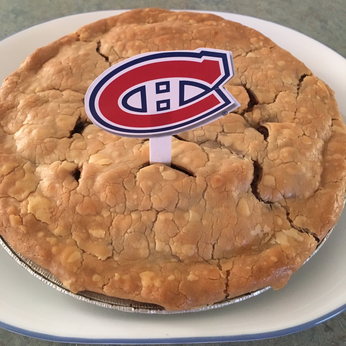 Habs Tourtiere Pie!