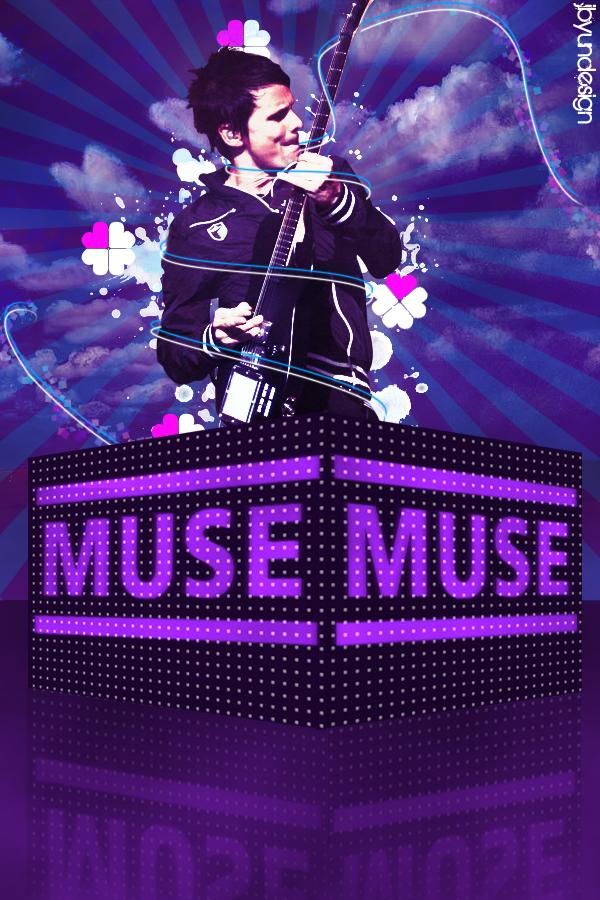 Muse Poster Matt Bellamy Creative Artwork Canucks Community