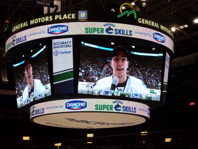 burrr being interviewed at skills competition 2010