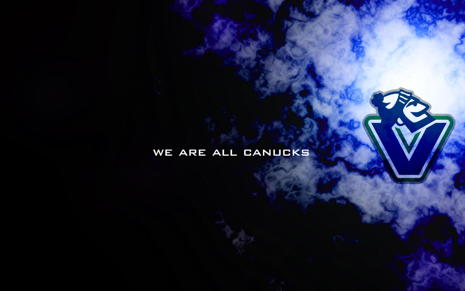 Johnny Canucks Logo Wallpaper