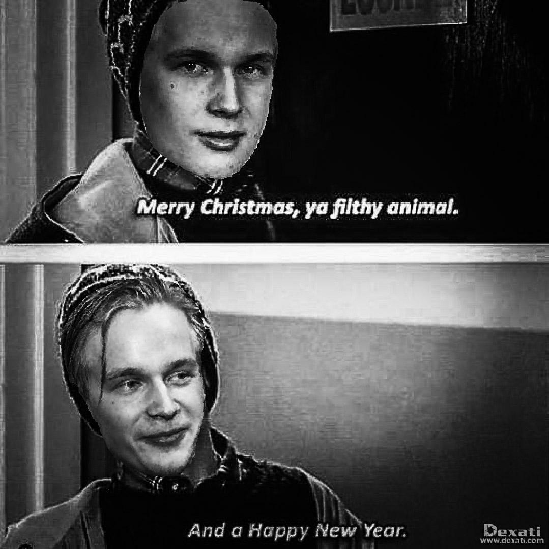 Merry Christmas Ya Filthy Animal And A Happy New Year.Merry Christmas Cdc And Happy New Year Canucks Talk