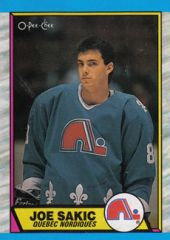 Sakic rookie card