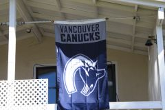 Canucks flag @ my house