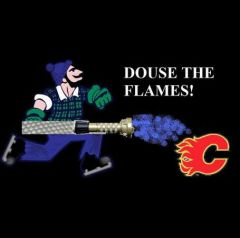 Canucks Douse The Flames