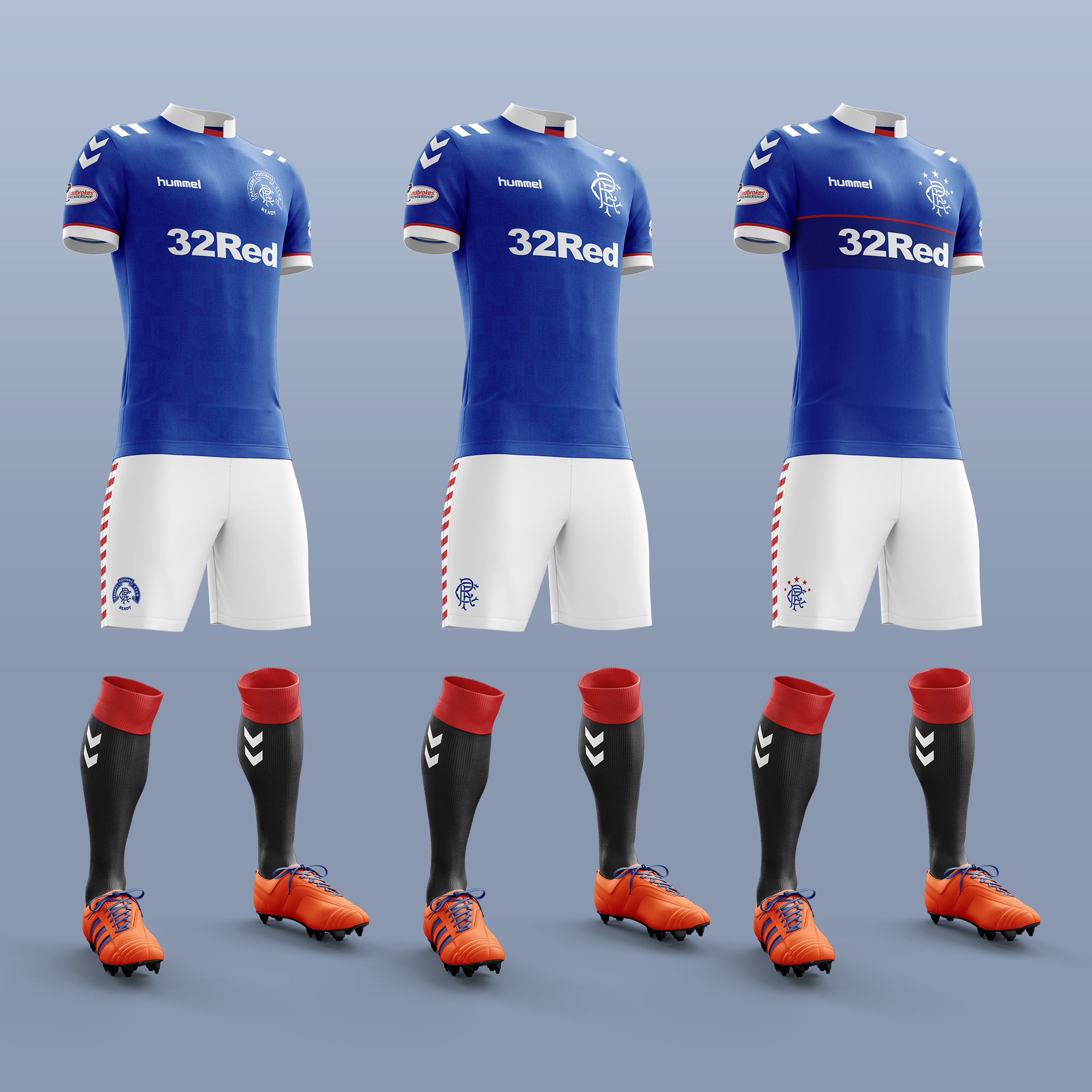 online store d58ff a59c0 New Hummel Kits - The Bears' Den - Rangers Media