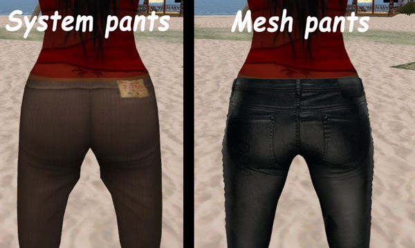 How do you Make Mesh Pants in Blender 2 6? - Mesh - Second