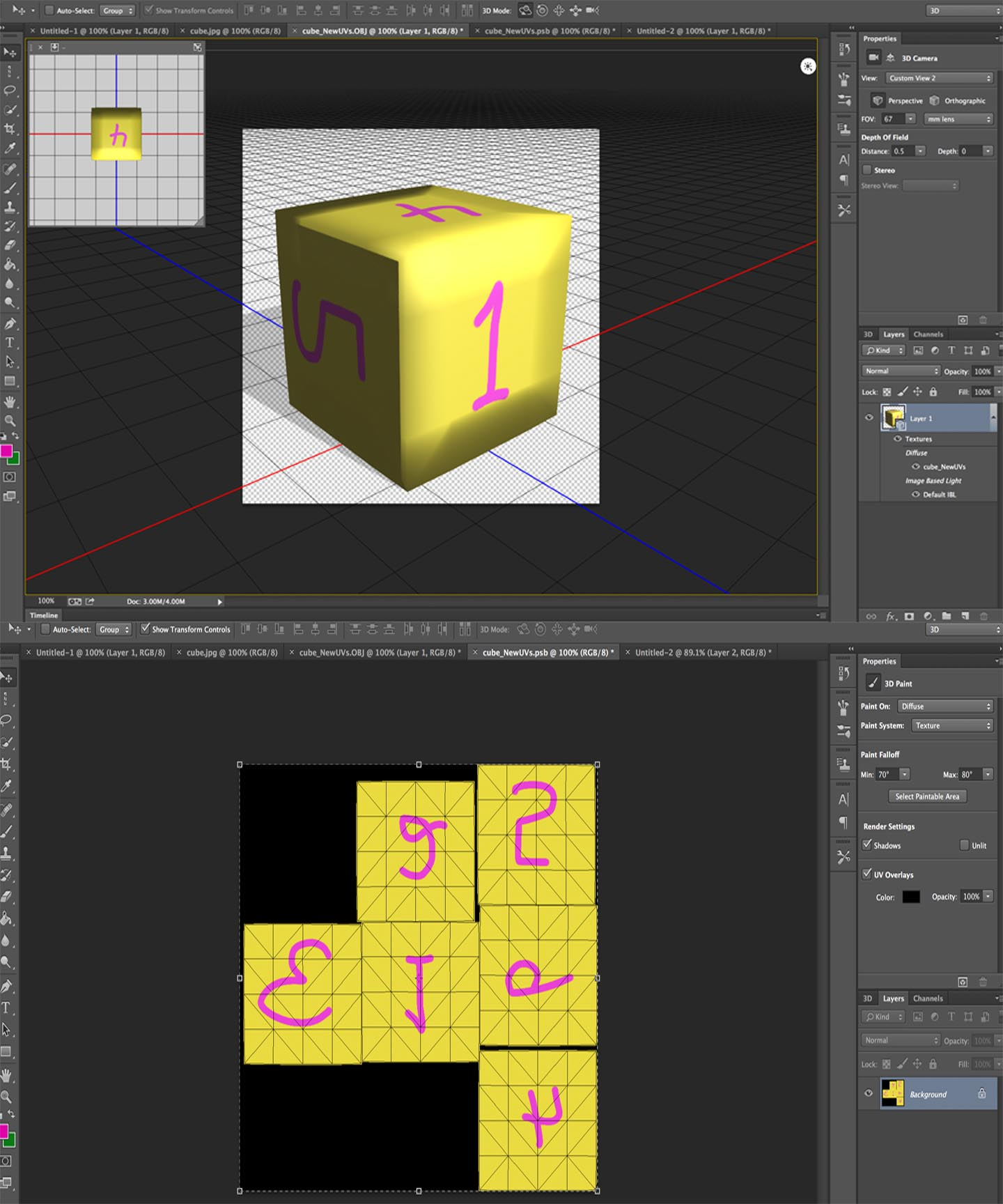 Editing DAE & OBJ with Photoshop? - Mesh - Second Life Community