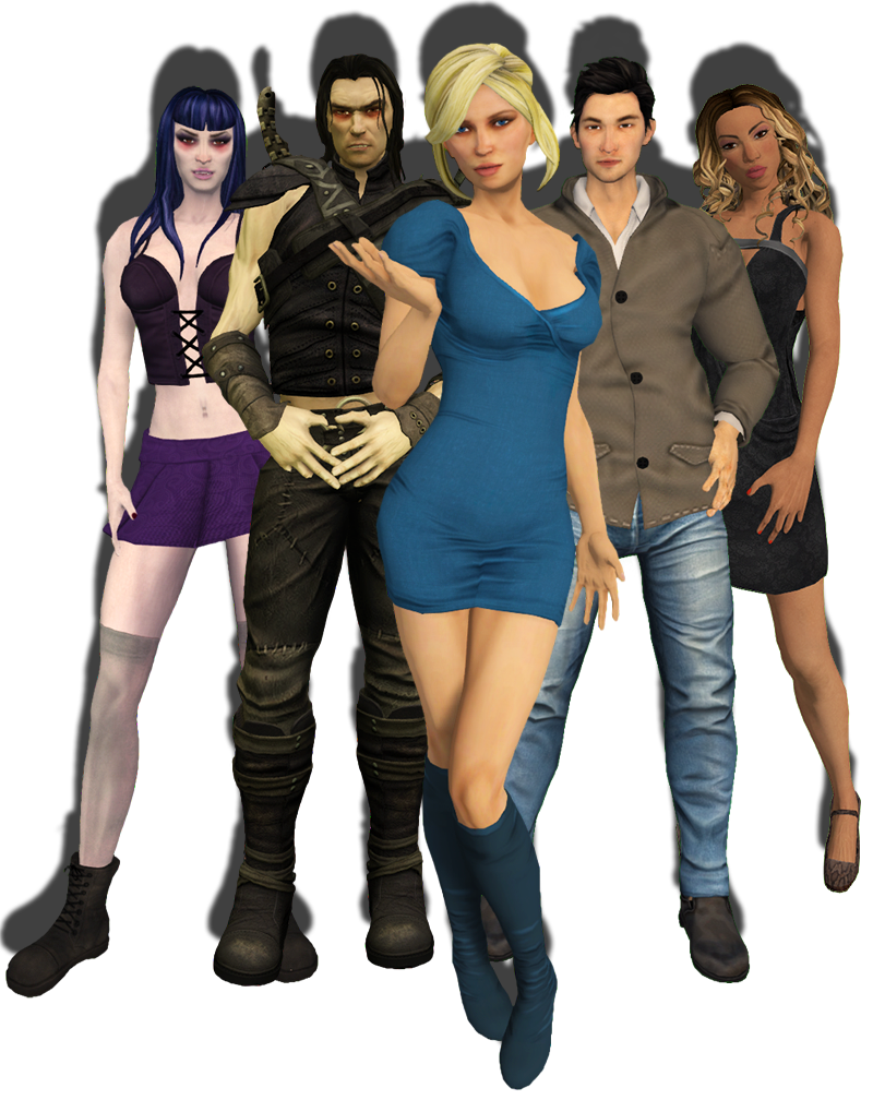 New Mesh Avatars Now Available in Second Life - Featured News