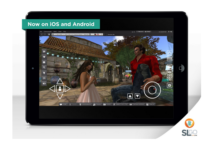 OnLive Brings Second Life to the iPad with SL Go - Featured