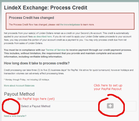 How to exchange lindens to real currency - Merchants