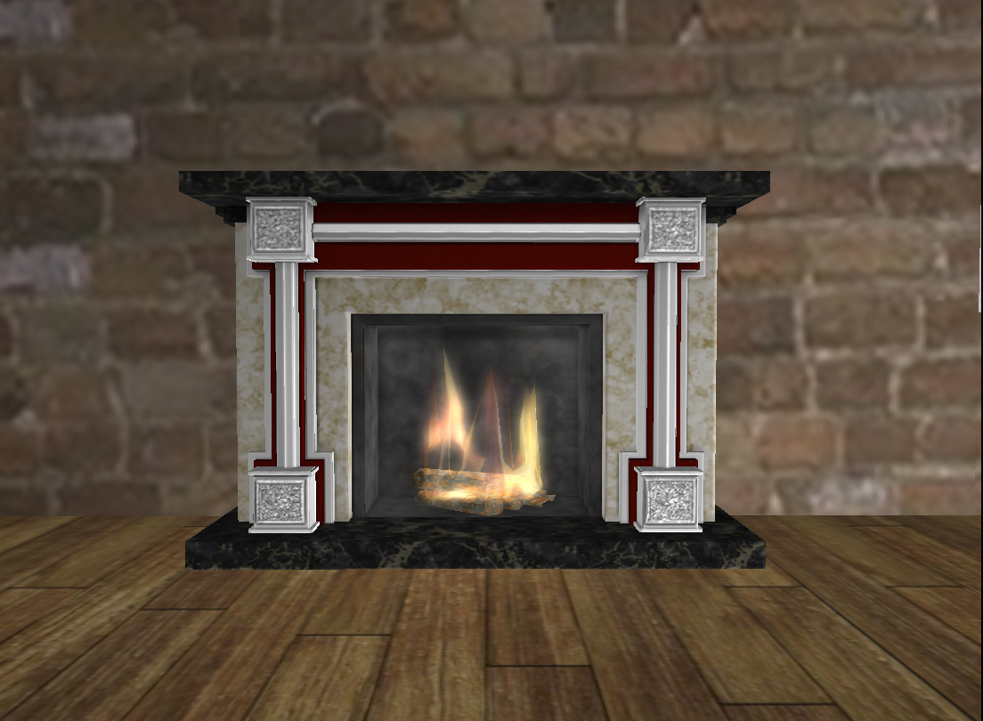 Marble Fireplace in Mesh.jpg