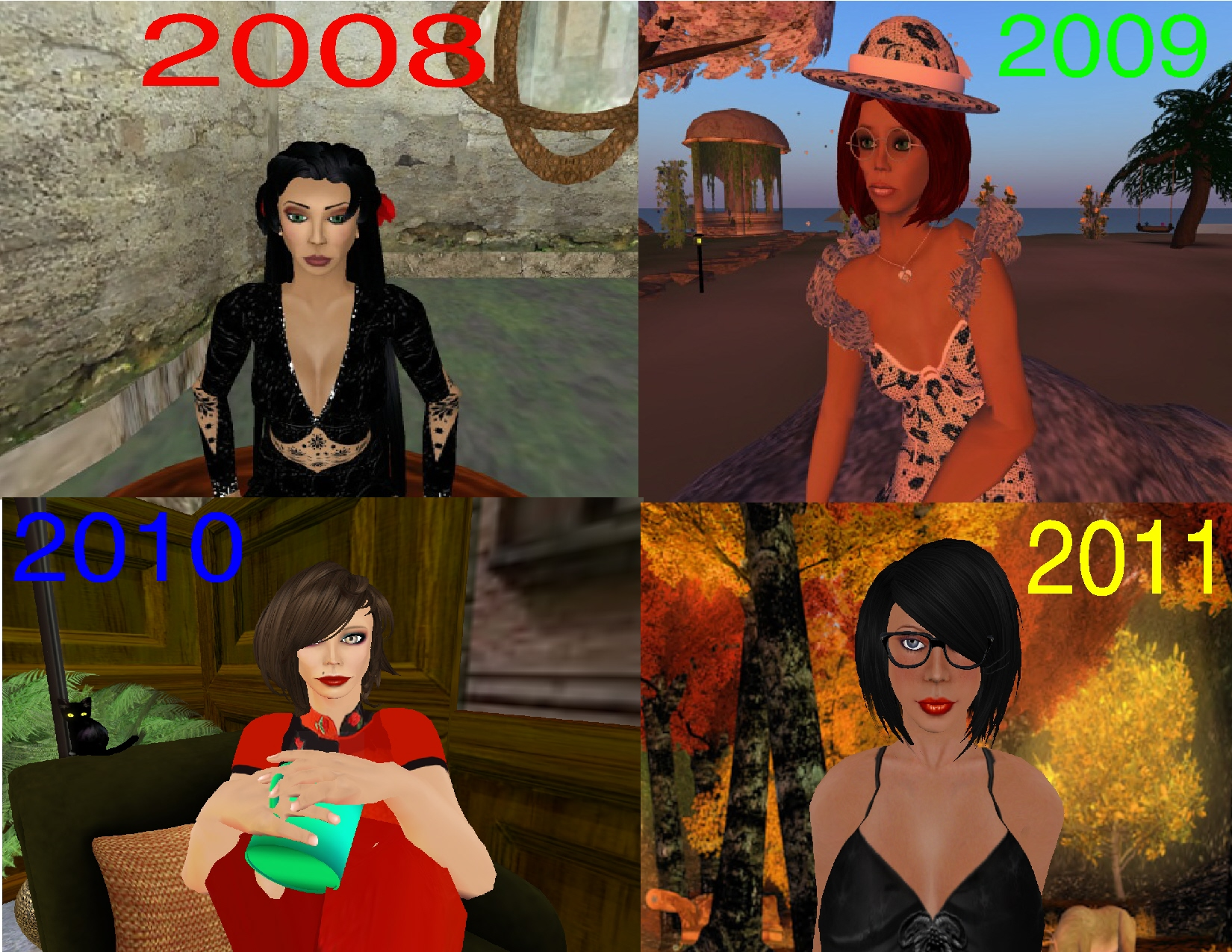 Second Life Progression.jpg