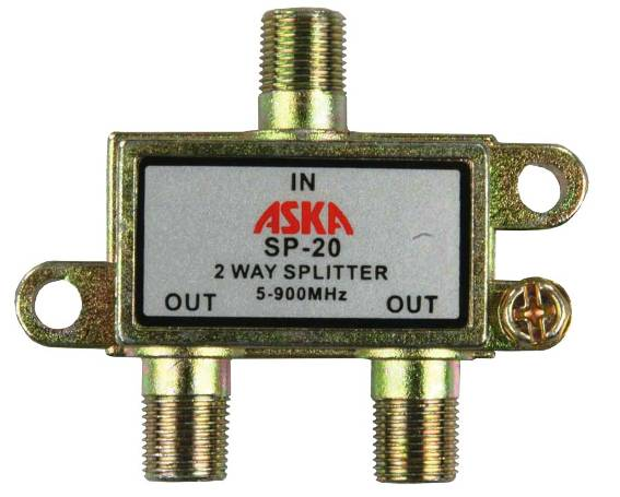 example of a cable splitter