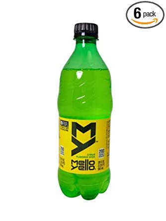Amazon.com : Mello Yello Citrus Flavored Soda 6, 20 ounce bottles ...