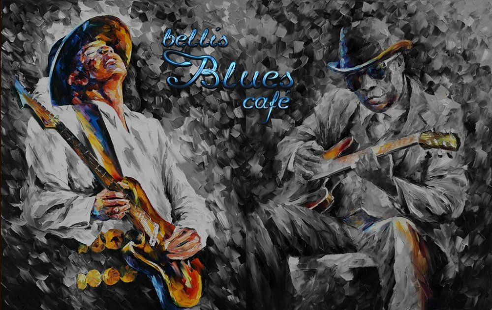 Bellis Blues Cafe graffiti